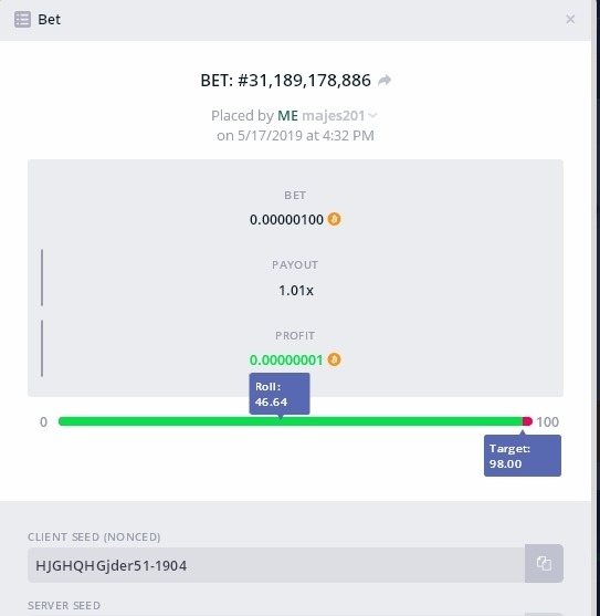 🎂 [0 06 BTC] Time for Champagne! [17th MAY] - Page 4
