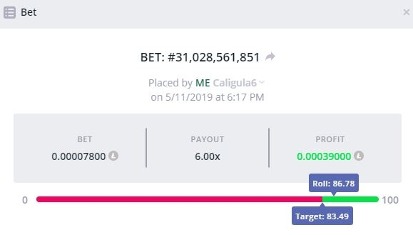 🎂 [0 06 BTC] Let's Get This Party Started! [12th MAY
